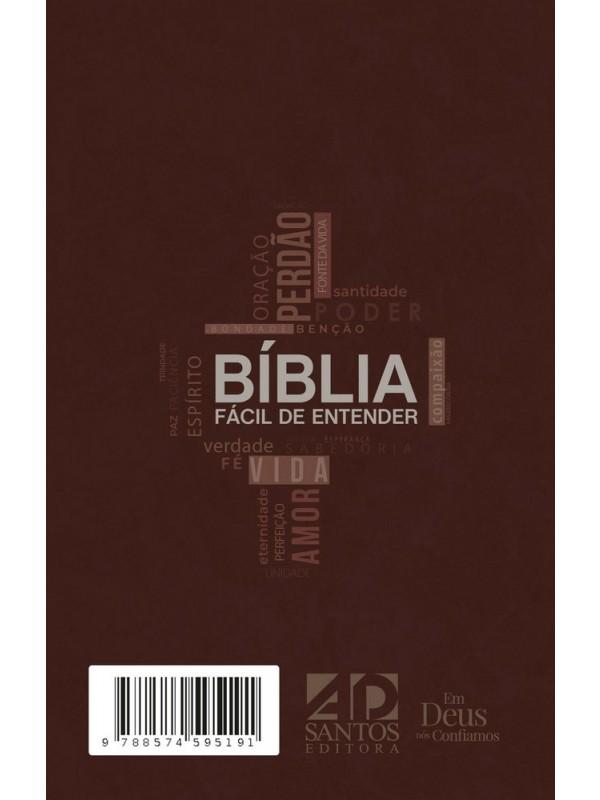 Bíblia Fácil De Entender Ntlh - Capa Marrom - Cross