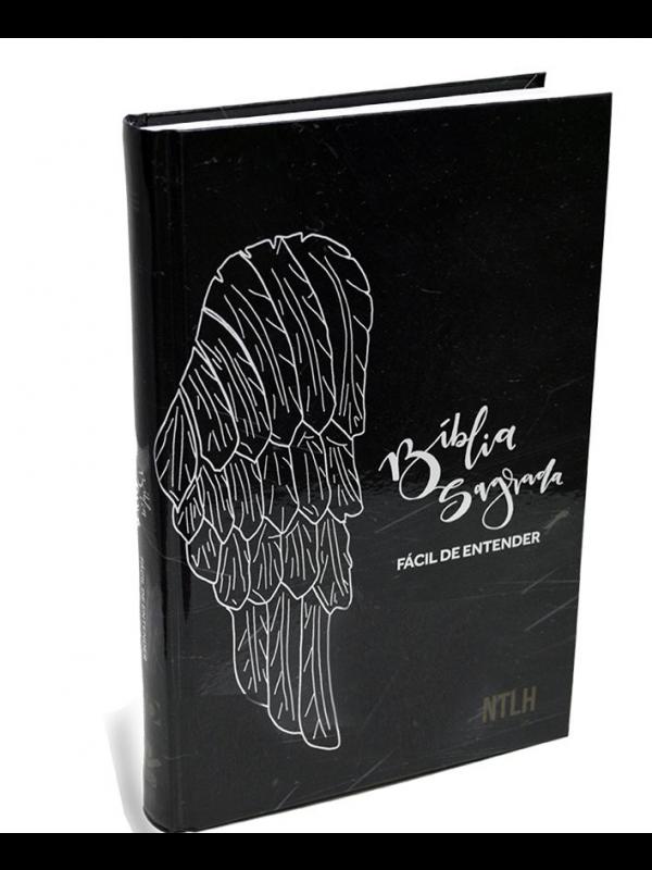 Bíblia Fácil De Entender Ntlh - Capa Preta - Asa De Anjo