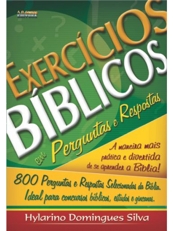 Exercícios Bíblicos | Hylarino Domingues Silva