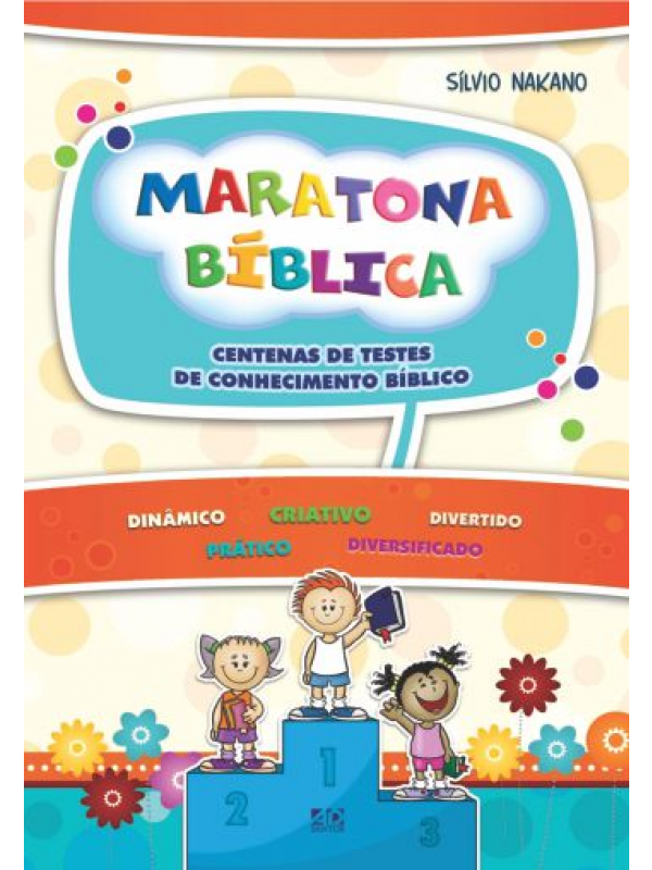 Maratona Bíblica | Autor: Silvio Nakano